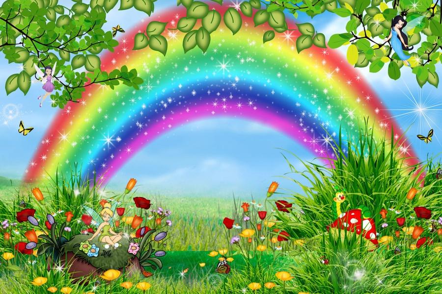 Цвета радуги картинки для детей 5