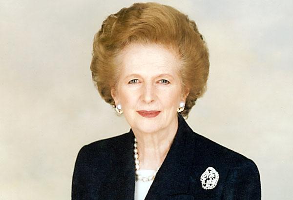 Умерла Маргарет Тэтчер.