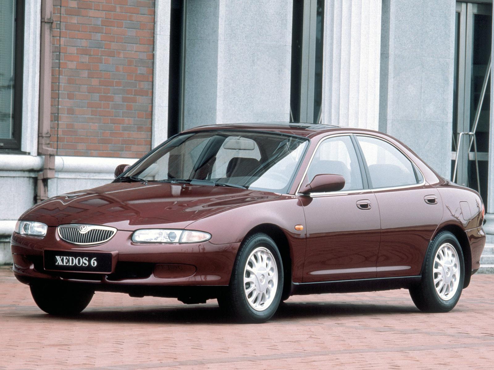 Скачать мануал по эксплуатации Mazda Xedos 6. Руководство пользователя