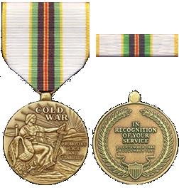 Медаль за победу в холодной войне