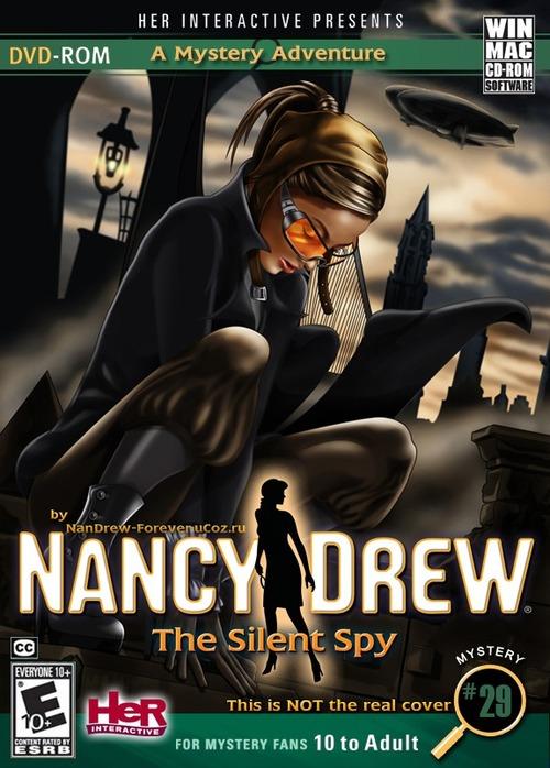 Nancy Drew #29. The Silent Spy [Безмолвный шпион]