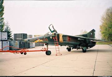 МиГ-23БН (32-23) - истребитель-бомбардировщик 5Qus0