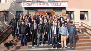 Встреча ветеранов ГСВСК в Тирасполе 27.10.2012 г.