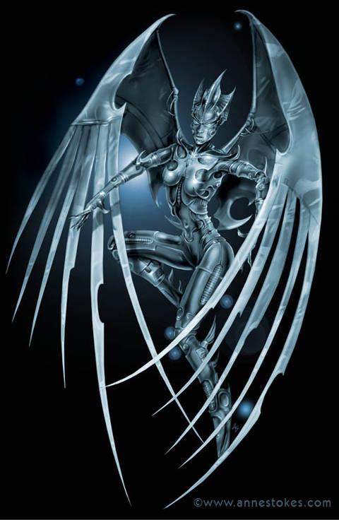 Арт-Прозрение. Механические ангелы (роботы, твари)