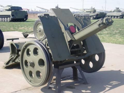 152-мм мортира образца 1931 года («НМ», индекс ГАУ — 52-Г-521) F05Id