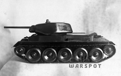 Т-43 - средний танк (1942 г.), опытный LfORa