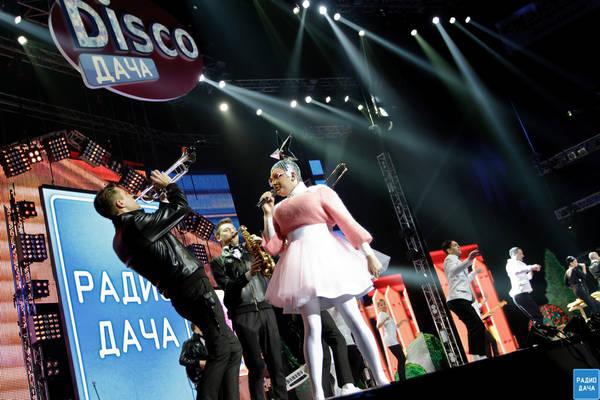 Disco дача в Санкт-Петербурге 2013 ведущая Верка Сердючка