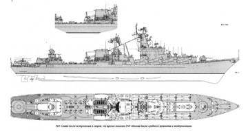 Проект 1164 ''Атлант'' - ракетный крейсер RxLU7