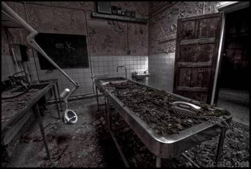Старый морг при госпитале