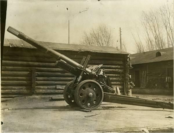 МЛ-15 - 152-мм гаубица-пушка (опытная) XRkAh