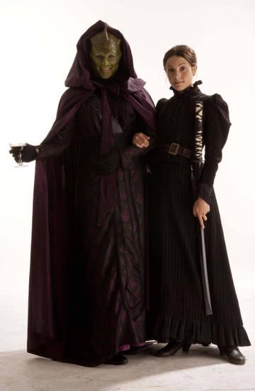 мадам Вастра и Дженни Флинт