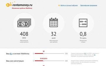 rentamoney.ru - отзывы, новости
