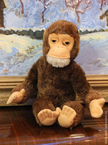 Немецкая обезьянка фирмы Steiff