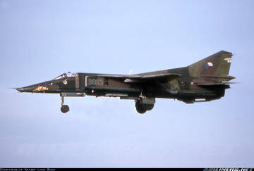 МиГ-23БН (32-23) - истребитель-бомбардировщик Hku21