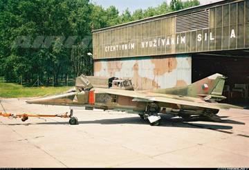 МиГ-23БН (32-23) - истребитель-бомбардировщик NRq1Z