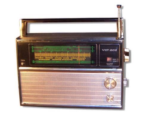 "Радиоприёмник ""ВЭФ-202"" создан"