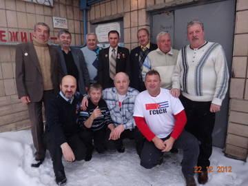 Встреча ветеранов ГСВСК 22.12.2012 г. в г. Киеве