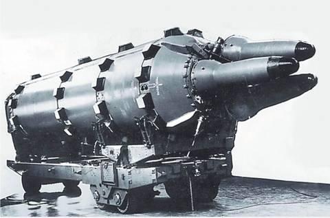 Ядерный боеприпас «83» - боевой блок баллистической ракеты Р-27У комплекса Д-5У. OeY5b