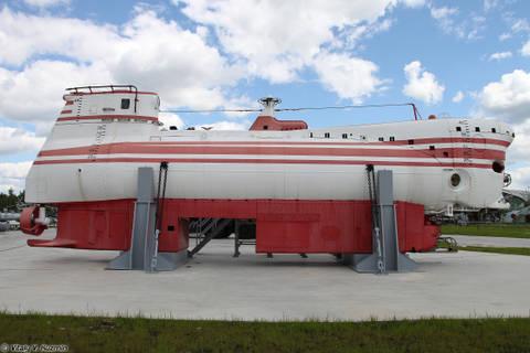 Проект 1832 «Поиск-2» - глубоководный аппарат THDfr