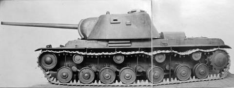 КВ-3 («Объект 223») - опытный тяжёлый танк W715H