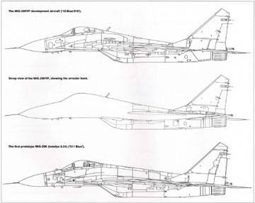 МиГ-29К (9-31) - палубный истребитель WA6Hq