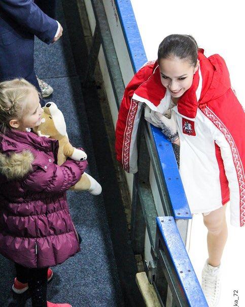 Алина Ильназовна Загитова-2 | Олимпийская чемпионка - Страница 6 YUMKq