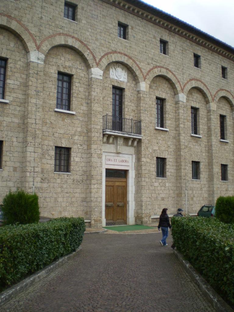 Главный фасад комплекса принадлежит тридцатым годам XX в.