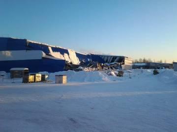 Петушинский металлический завод. Рухнула крыша склада
